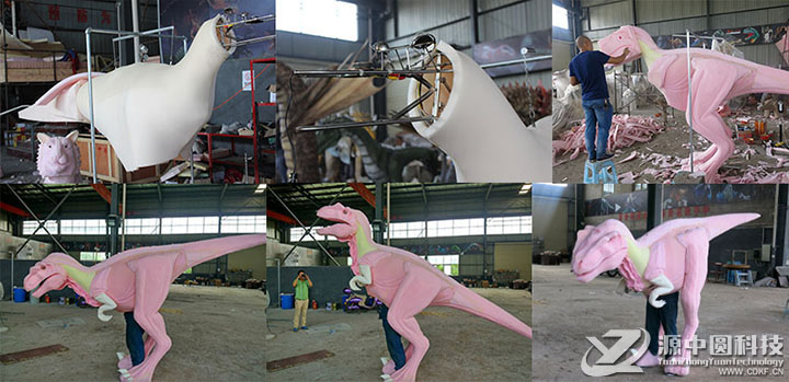 恐龙衣服制作