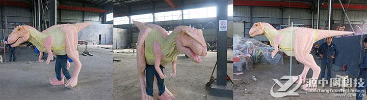 恐龙皮套制作