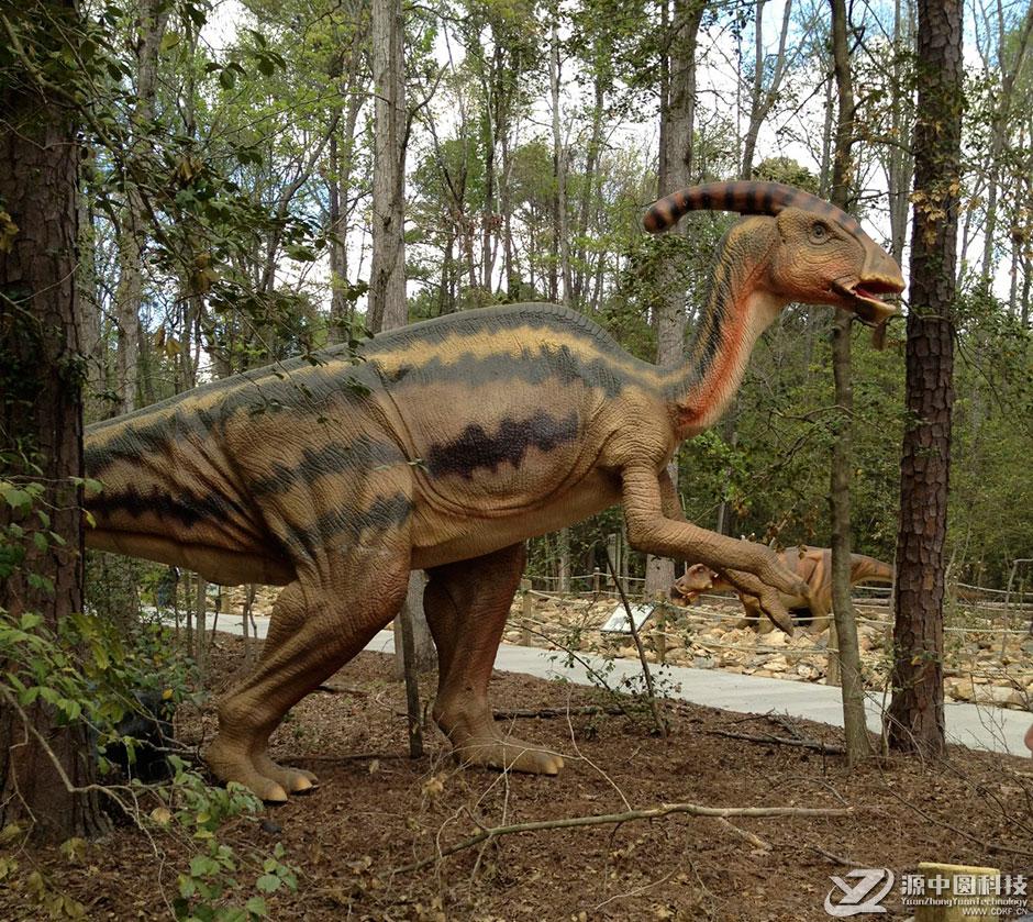 活体恐龙,活体恐龙雕塑,恐龙机模动雕
