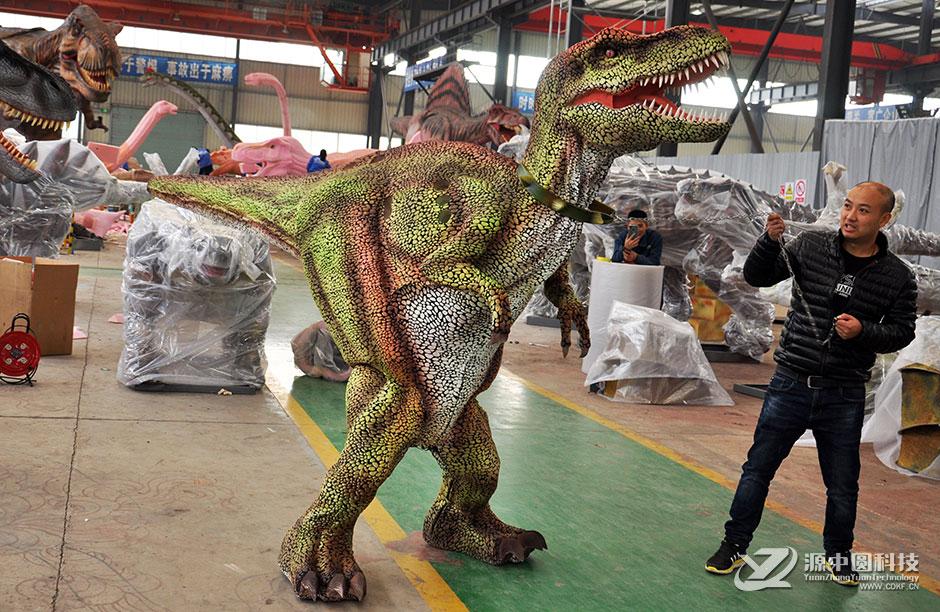 恐龙皮套定制  定制恐龙服装