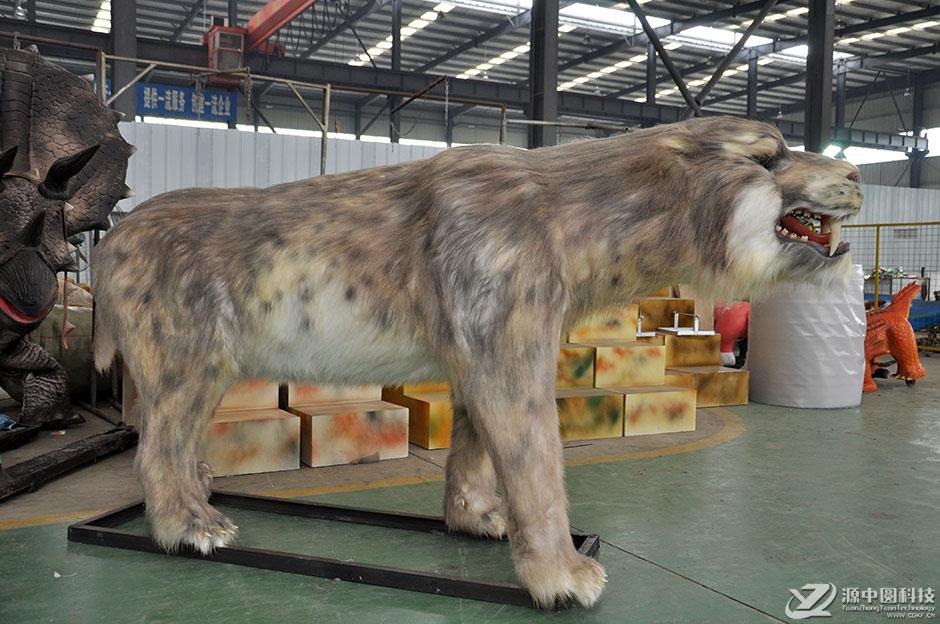 动态仿生动物雕塑定制