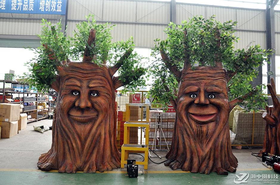说话树 讲话树 树机模