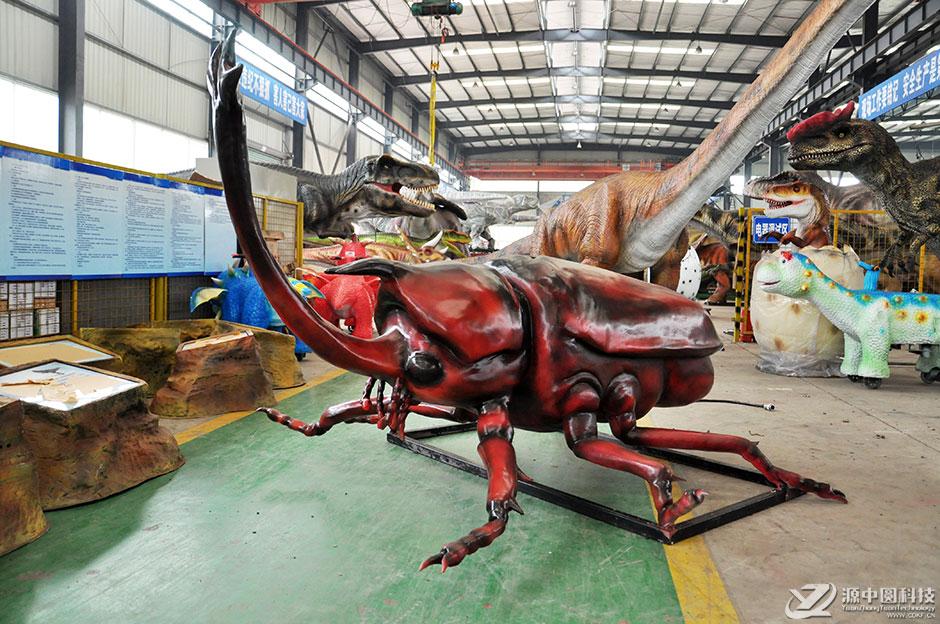 仿真巨型昆虫定做