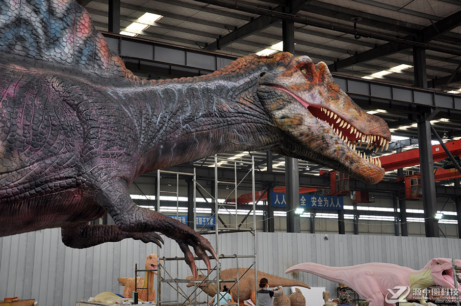 自贡仿真恐龙制作