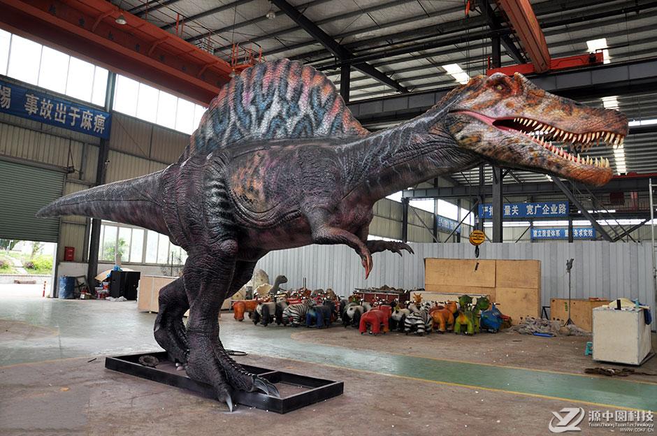 大型传动恐龙模型制作工厂