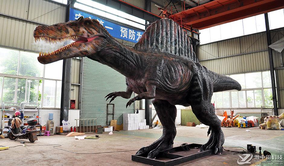 旅游景点假恐龙定制