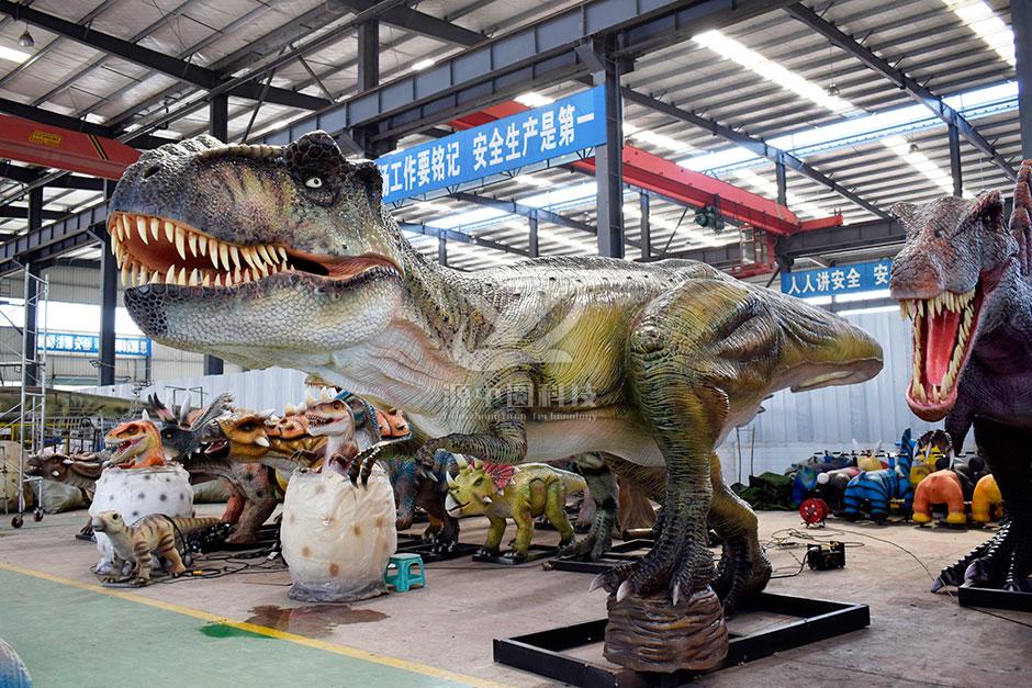 商场仿生电动恐龙制造工厂