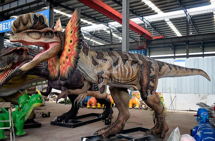 电动恐龙制作
