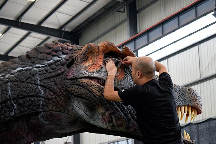 商场仿真恐龙制作