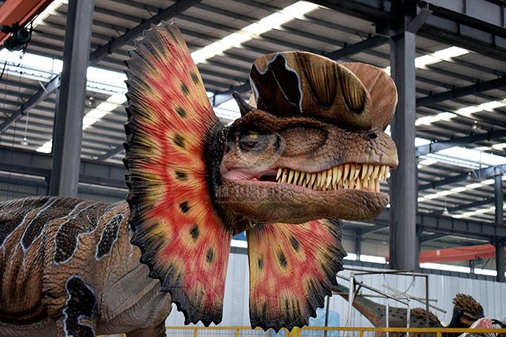 电动恐龙雕塑