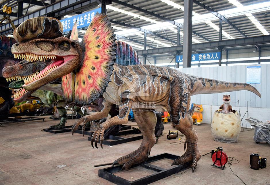 景区恐龙景观雕塑模型制作