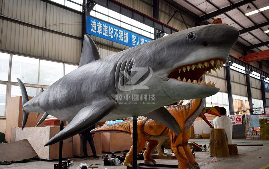 仿真动物大白鲨