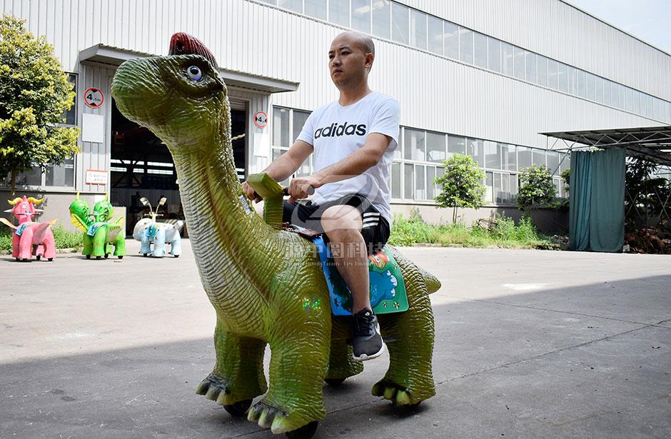 电子恐龙车模型定制