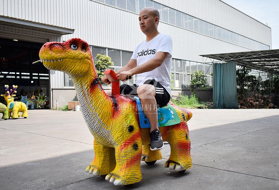 儿童恐龙车,商场恐龙车,充电恐龙车