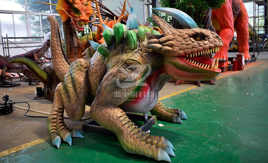 主题乐园怪兽机模雕塑厂家