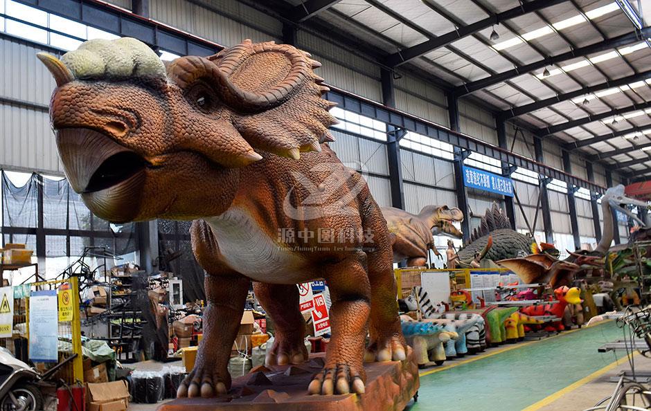 活体恐龙,恐龙雕塑,恐龙机模